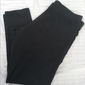 Soft Surroundings Black leggings